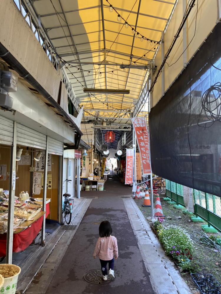 吉塚市場十字路