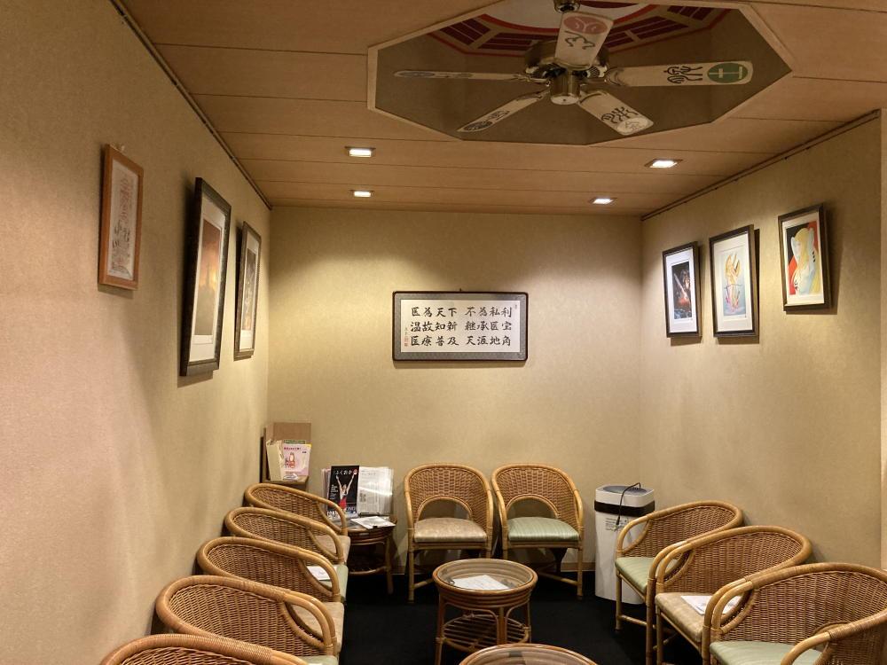 三宅漢方医院診察室風景